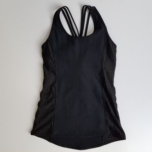 Calia Small black activewear tank K28